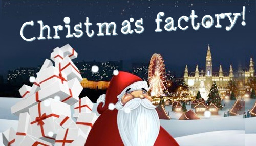 Austrian Airlines Christmas Factory