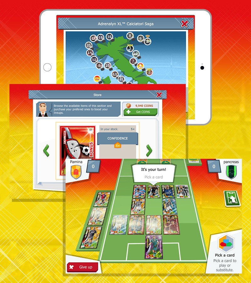Panini Adrenalyn XL™ Serie A Mobile Edition