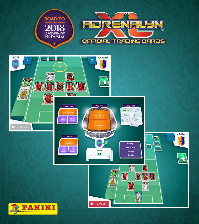 Panini AdrenalynXL Road to FIFA Worldcup 2018®