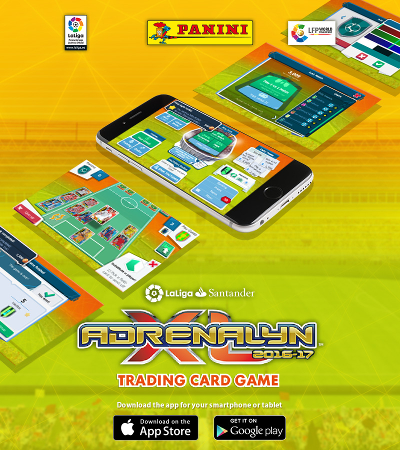 BBVA Adrenalyn XL™ Mobile Game